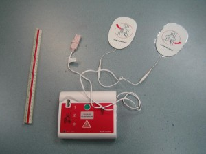 AED trainer used in CPR and AED classes