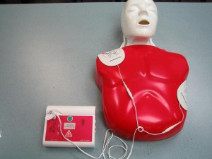 Learn to effective use an AED by taking a course that provide an AED trainer and CPR mannequin