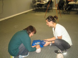 CPR and AED re-certification course