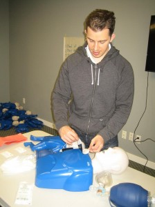 CPR and AED courses in Regina