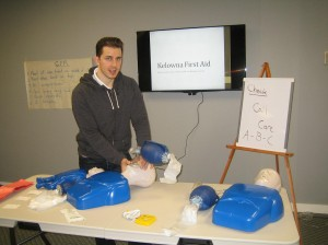 CPR and AED courses in Kelowna