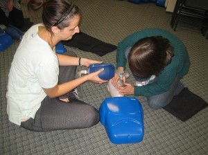 CPR and AED course in Saskatoon