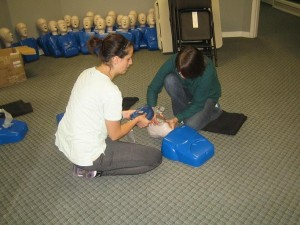 CPR and AED courses in Thunder Bay