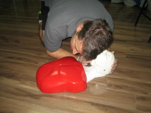 CPR and AED courses in Red Deer