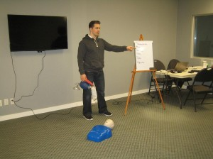 CPR and AED courses in Halifax