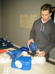 CPR and AED courses in Hamilton