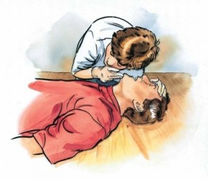 unconscious victim first aid treatment