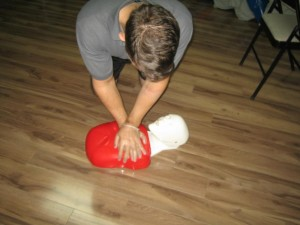 CPR and AED courses in Grande Prairie