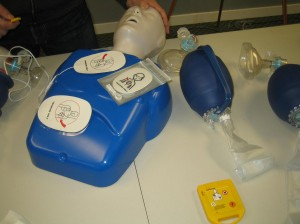 CPR and AED Training Class
