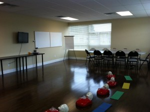 CPR training Classroom