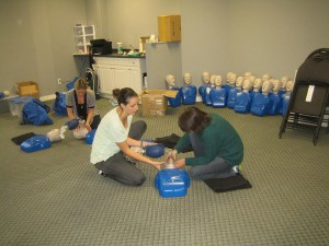 CPR training in Coquitlam